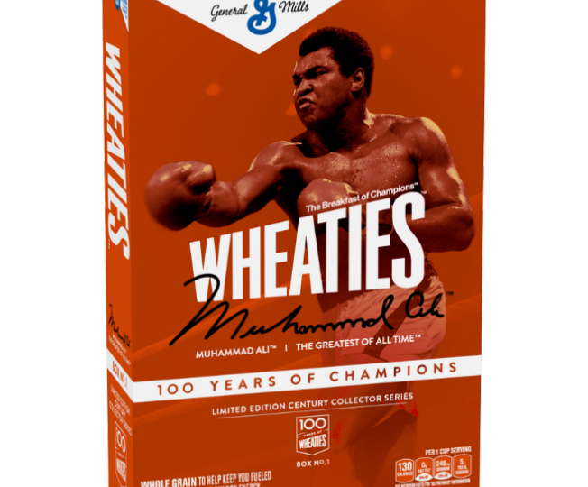 Wheaties celebrates 100th birthday with new Century Box series, tabs Muhammad Ali for limited-edition commemorative cover