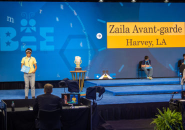 Innovative 14-year-old Zaiya Avant-grade becomes first African American teen to win national spelling bee