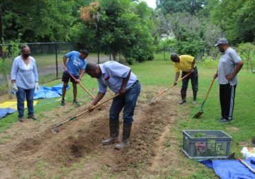 UAPB's Agricultural Department partners with South End Neighborhood Group to development community garden