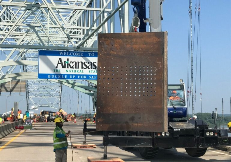 I-40 bridge reopens Monday under limited traffic as contractors finish up repair work